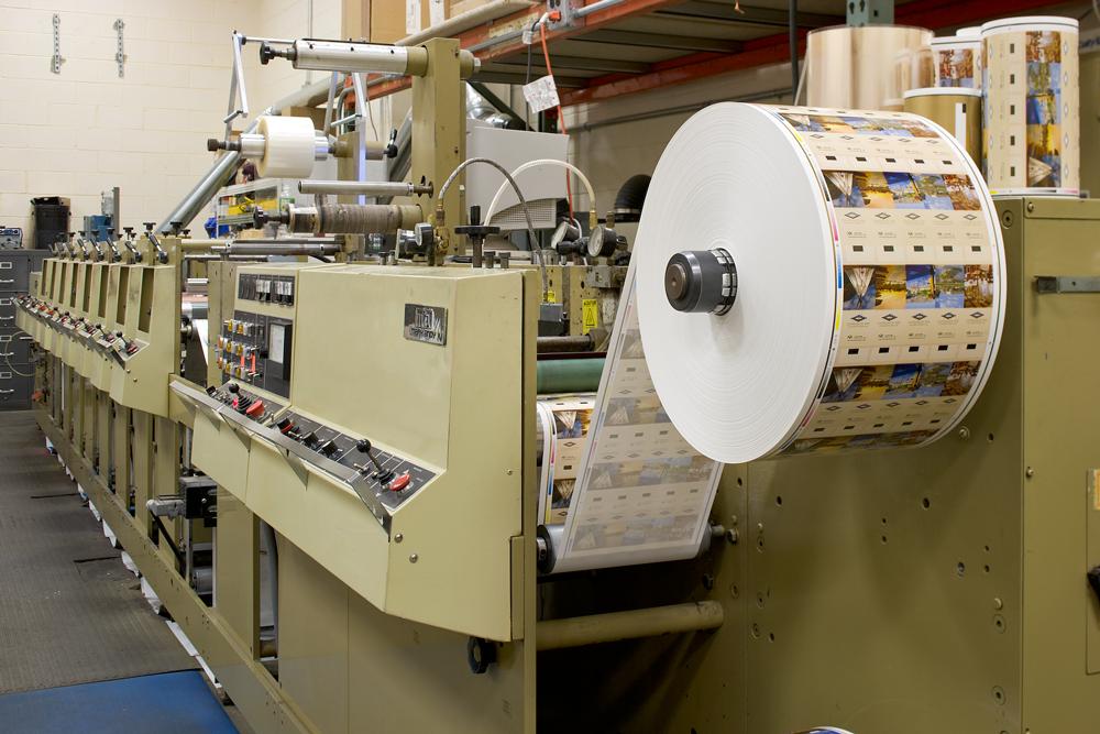 Flexo- und CI-Pressendruckverfahren